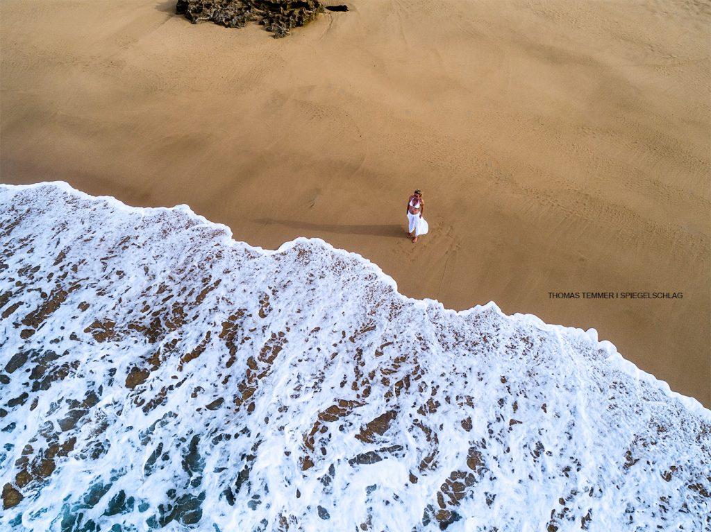 Die Drohnenfotografie bietet tolle Perspektiven in der Peoplefotografie